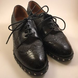 Jeffrey Campbell studded oxford